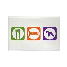 Eat Sleep Lakeland Rectangle Magnet