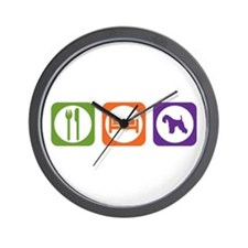 Eat Sleep Lakeland Wall Clock