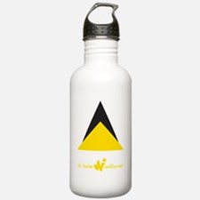 St. Lucia Triangle Water Bottle