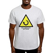 Self-Improving Software T-Shirt