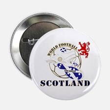 "Scotland World Football Design 2.25"" Button"