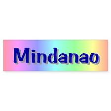 Mindanao Map Gifts Bumper Bumper Sticker