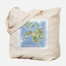 Mindanao Map Gifts Tote Bag