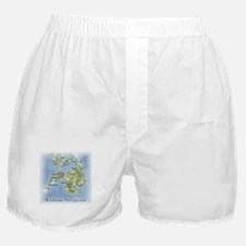Mindanao Map Gifts Boxer Shorts
