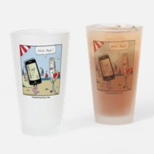 Nice Apps Drinking Glass