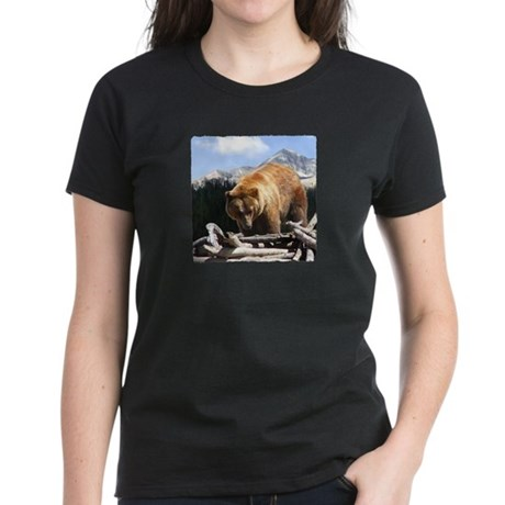 Montana Grizzly Women's Dark T-Shirt