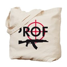 profi killer target machine gun Tote Bag
