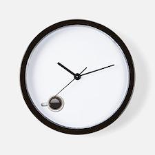 Instant Mom, Just Add Coffee Wall Clock