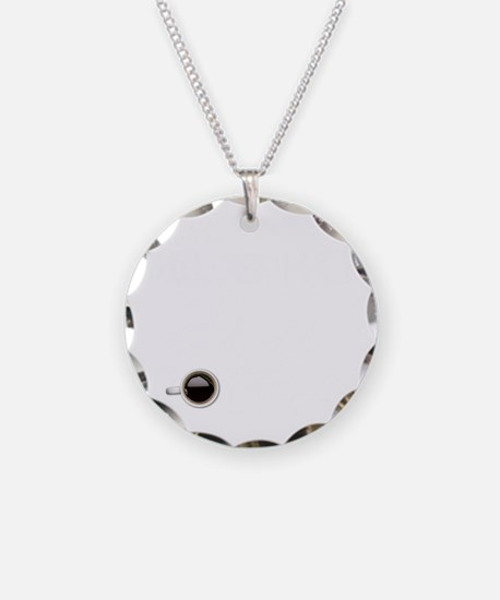 Instant Philosopher, Just Ad Necklace Circle Charm