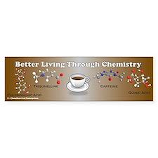 Coffee Chemistry Bumper Bumper Sticker