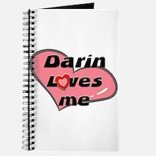 darin loves me Journal