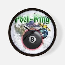 pool king Wall Clock