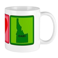 Peace Love Idaho Mug