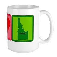 Peace Love Idaho Mug