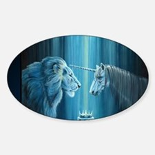 The Lion  The Unicorn Decal
