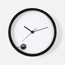 Instant Nurse, Just Add Coffee Wall Clock
