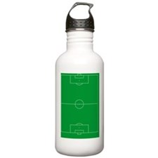 Soccer Field Water Bottle