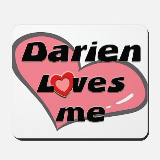 darien loves me  Mousepad