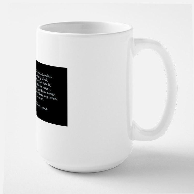 Legend of the Horse Large Mug