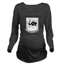 DUI - 4th Bn 64th Ar Long Sleeve Maternity T-Shirt