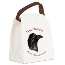 The Raven Canvas Lunch Bag