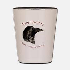 The Raven Shot Glass