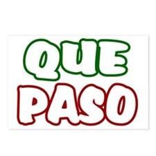 Que Paso Postcards (Package of 8)