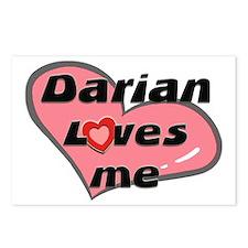 darian loves me  Postcards (Package of 8)