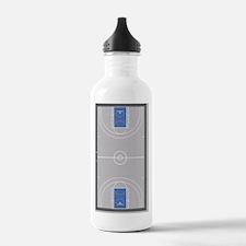 Basketball Court Water Bottle