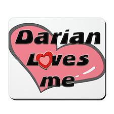 darian loves me  Mousepad
