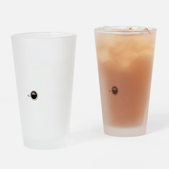 Instant Accountant Drinking Glass