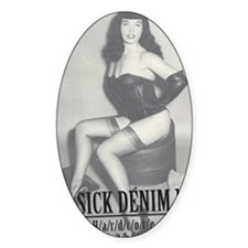 Bettie Page 2 Decal