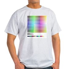 HTML Color Codes T-Shirt
