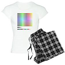 HTML Color Codes Pajamas