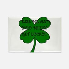 Cute Black irish Rectangle Magnet