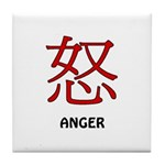 Anger Tile Coaster