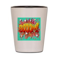 Comic Book Booom! Shot Glass