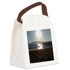 Beautiful Tahoe Beach Canvas Lunch Bag