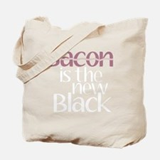 Bacon is the new Black Tote Bag