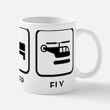 eatSleepFlyHeli1A Mug