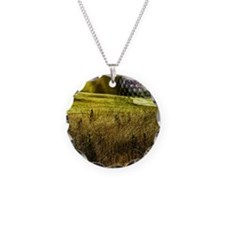 Golf ball on the green Necklace