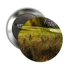 "Golf ball on the green 2.25"" Button"