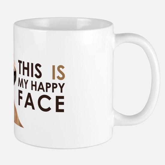 Happy Face Dachshund Mug