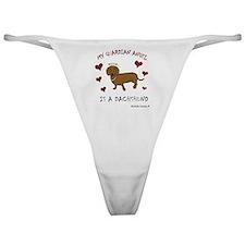 dachshund Classic Thong