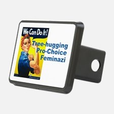 Tree Hugging Pro Choice Fe Hitch Cover