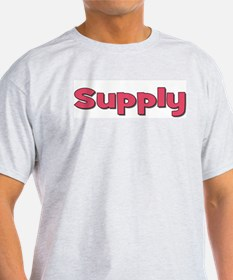 Supply in pink T-Shirt