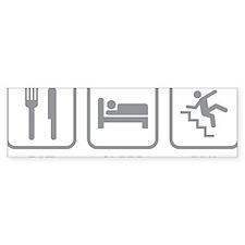eatSleepFail1C Bumper Sticker