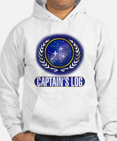 Federation Captains Log Hoodie