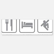 eatSleepParkour1D Sticker (Bumper)