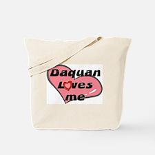 daquan loves me Tote Bag
